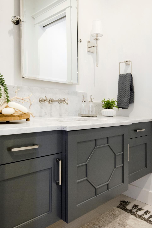 Charcoal Gray Bathroom Vanity