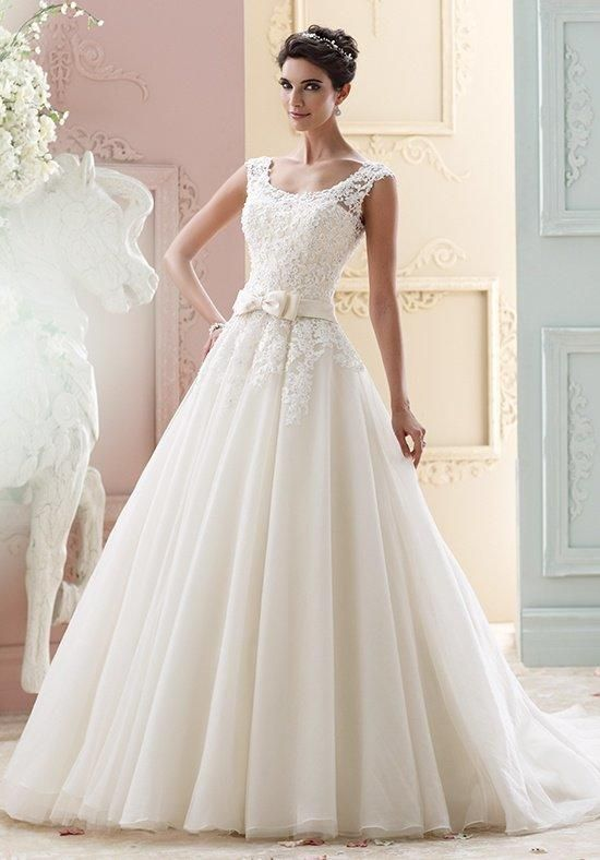 David Tutera For Mon Cheri 215263   Marmee Wedding Dress Photo