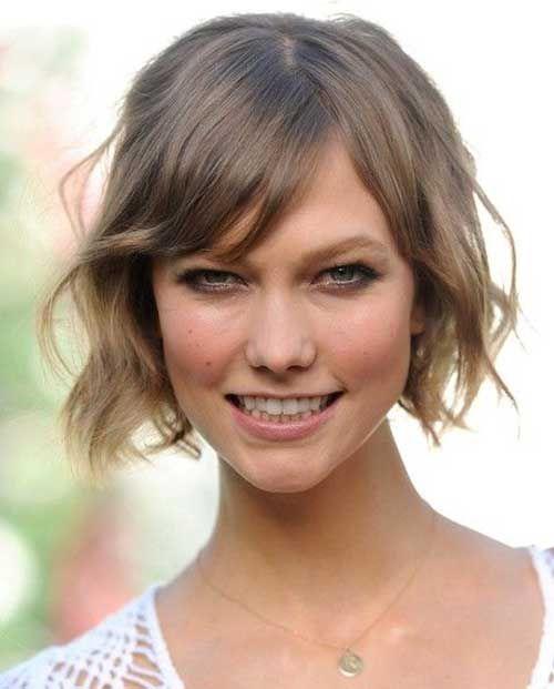 Short Hairstyles For Wavy Thin Hair Jpg 500 621 Pixels Thin Wavy Hair Karlie Kloss Hair Hair Styles 2014