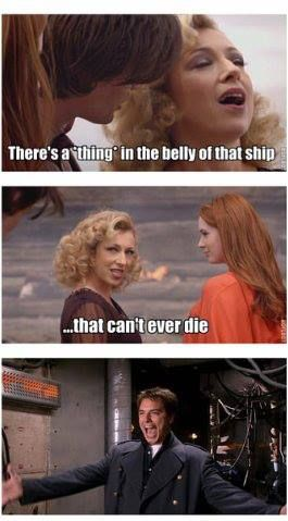 """""""He does a lot of 'dancing', if you know what I mean."""" (via Doctor Who And The Tardis By Craig Hurle)"""