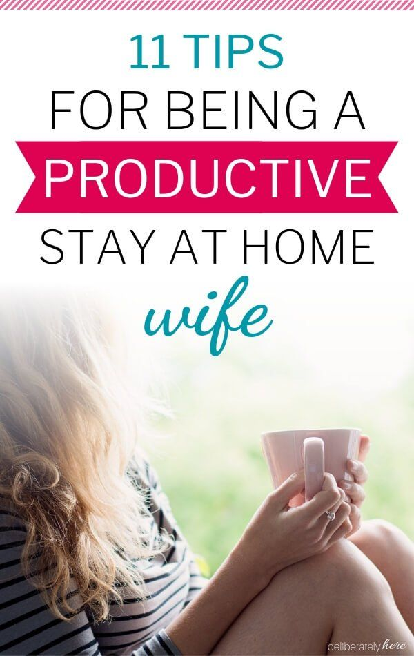 How to be the Best Stay at Home Wife (11 Things to do Now)