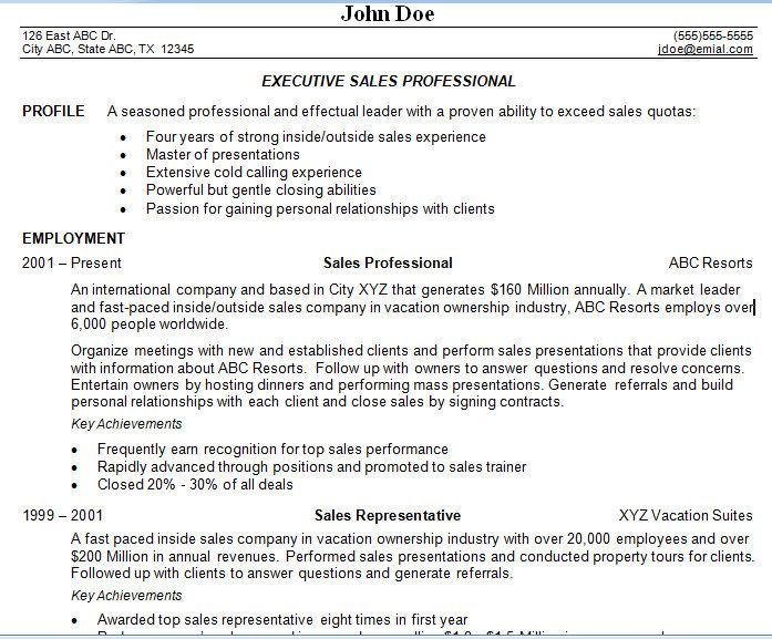 objective for sales associate resume resume objective for sales ...