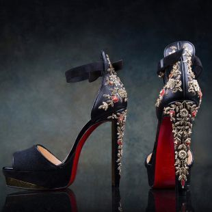 534d862062ab5 Sabyasachi Mukherjee x Christian Louboutin shoes | The ultimate guide for  the Indian Bride to plan her dream wedding. Witty Vows shares things no one  tells ...