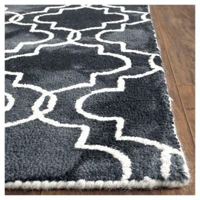 Denzil Area Rug - Graphite/Ivory (Grey/Ivory) (8'x10') - Safavieh