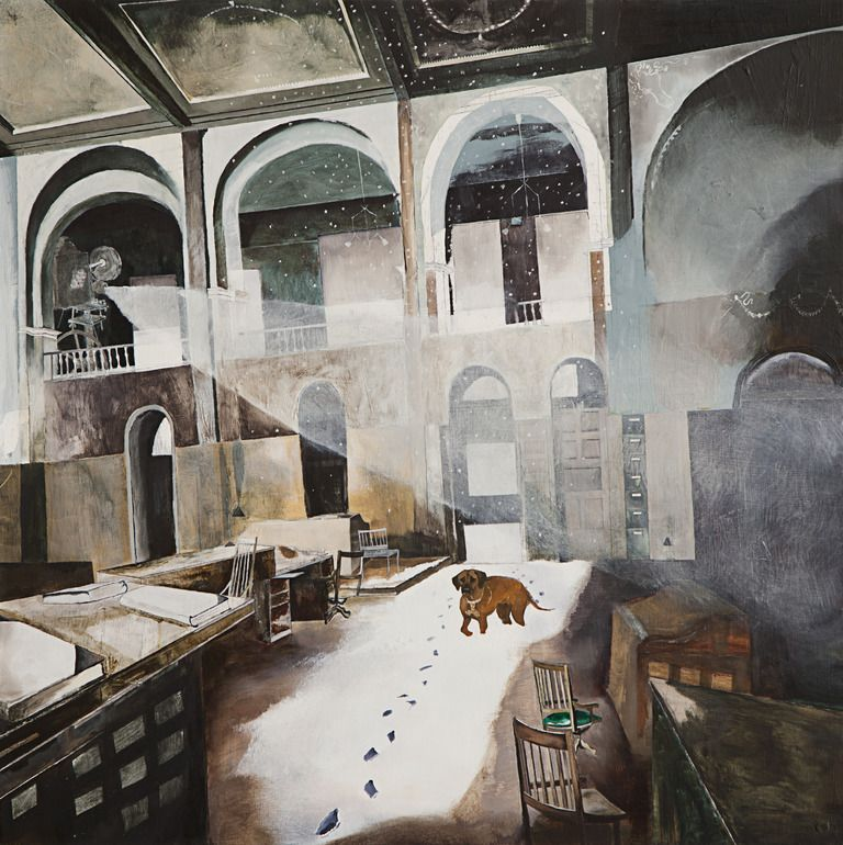 """Saatchi Online Artist: Hannah Kasper; Oil, 2008, Painting """"The Search Continues"""""""