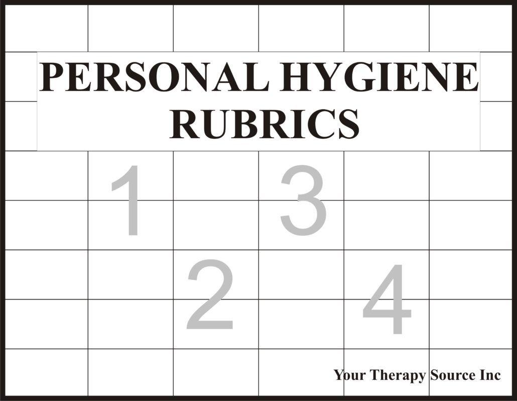 Personal Hygiene Rubrics