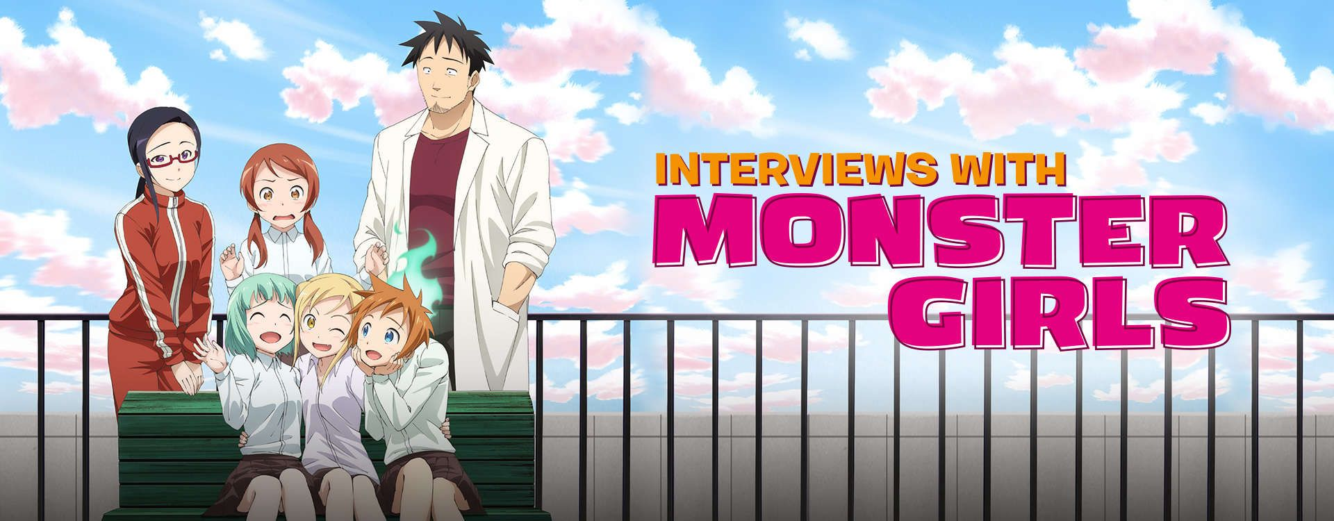 Interviews with monster girls anime