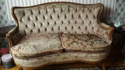 Chippendale Barock 2 Sitzer Sofa Rosa Altrosa Chippendale Pinterest