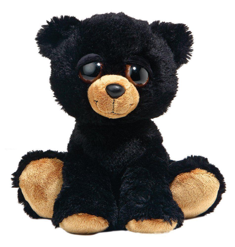 Dreamy Eyes - New BARNAM the Black Bear 10 inch Aurora World Plush