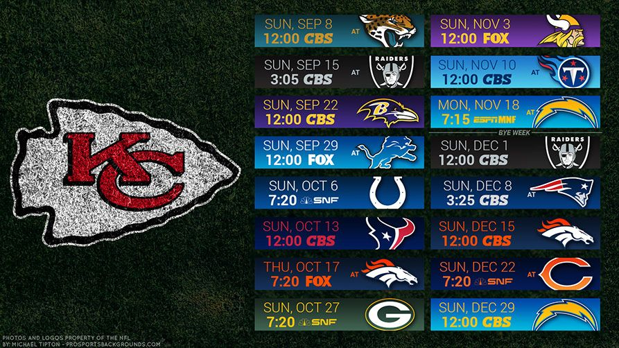 Kansas City Chiefs 2019 Desktop Pc Field Nfl Schedule Wallpaper Kansas City Chiefs Kansas City Kansas