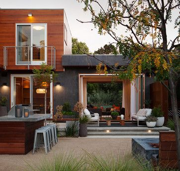 Mora Drive - contemporary - Patio - San Francisco - Dotter & Solfjeld Architecture + Design