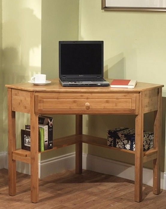 Bamboo Corner Desk Reproduction Writing Desks For Sale
