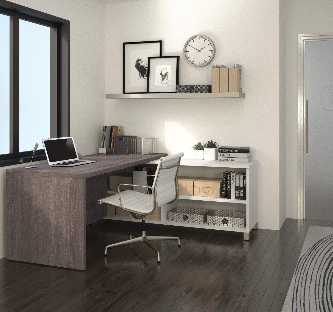 Desandre Reversible L Shape Executive Desk Home Office Design L