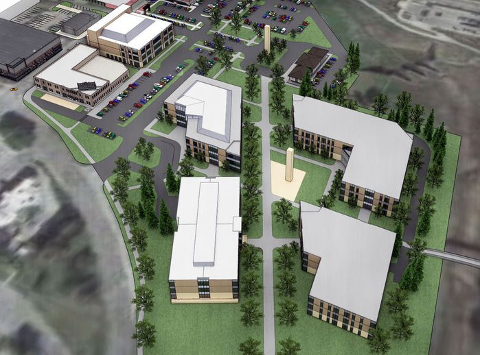 Scc Eyes New 120m Campus In Telegraph District Lincoln Ne