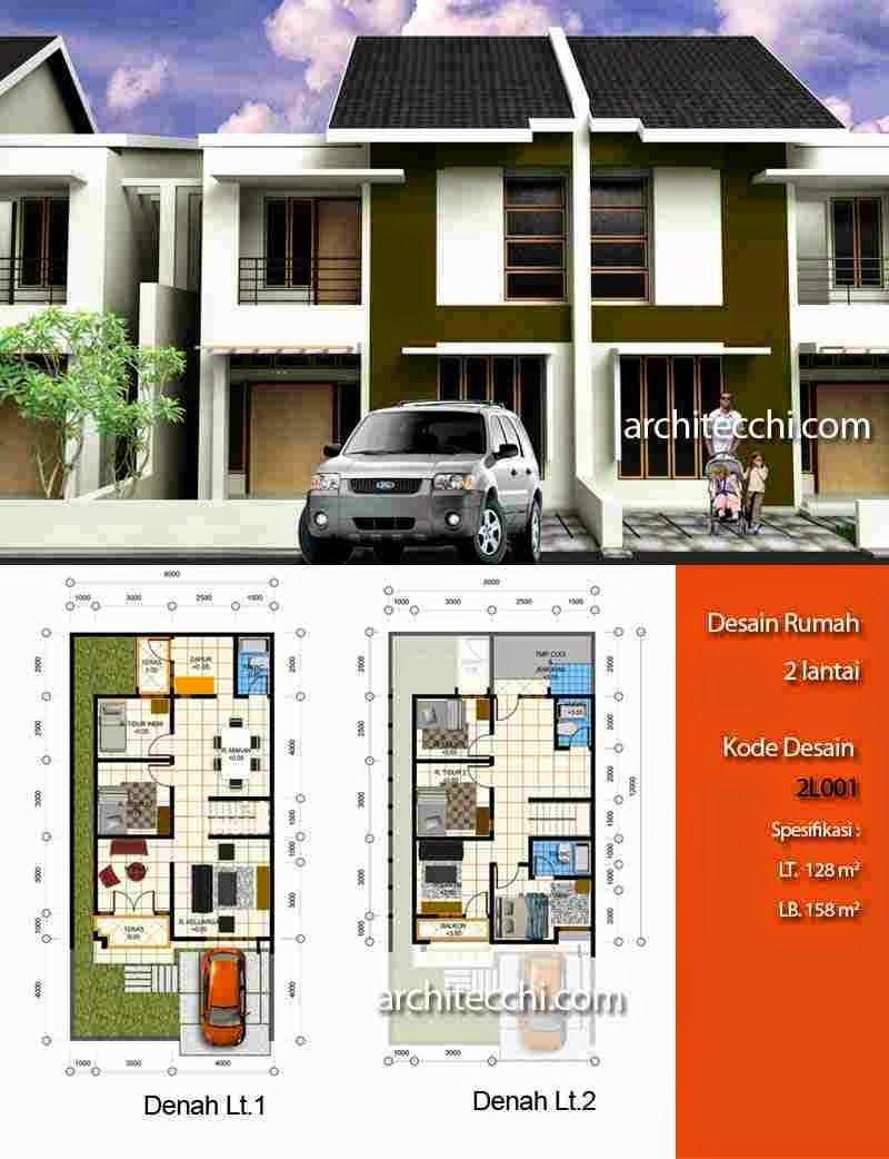 760 Gambar Rumah Minimalis 2 Lantai Beserta Denahnya Terbaru Denah Rumah Desain Rumah Rumah Minimalis