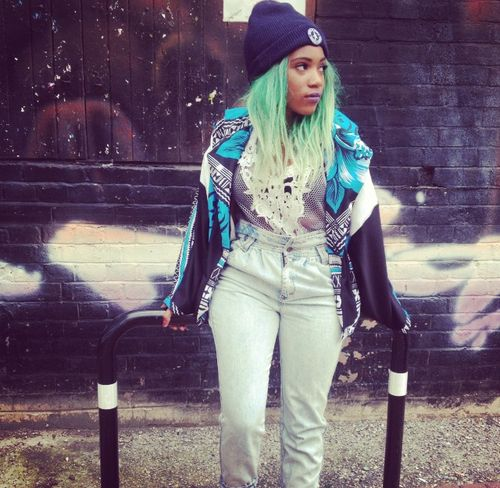 Tremendous African American With Green Hair African American Girls With Hairstyle Inspiration Daily Dogsangcom