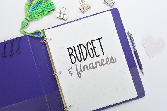 Printable Budget Planner Budget Printables by MamasGotItTogether