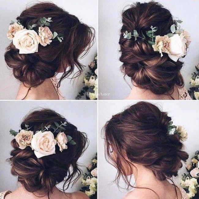Fryzury Slubne Luzne Upiecia Z Kwiatami Najpiekniejsze Trendy Dla Panny Mlodej Wedding Hair And Makeup Wedding Hairstyles Trendy Wedding Hairstyles