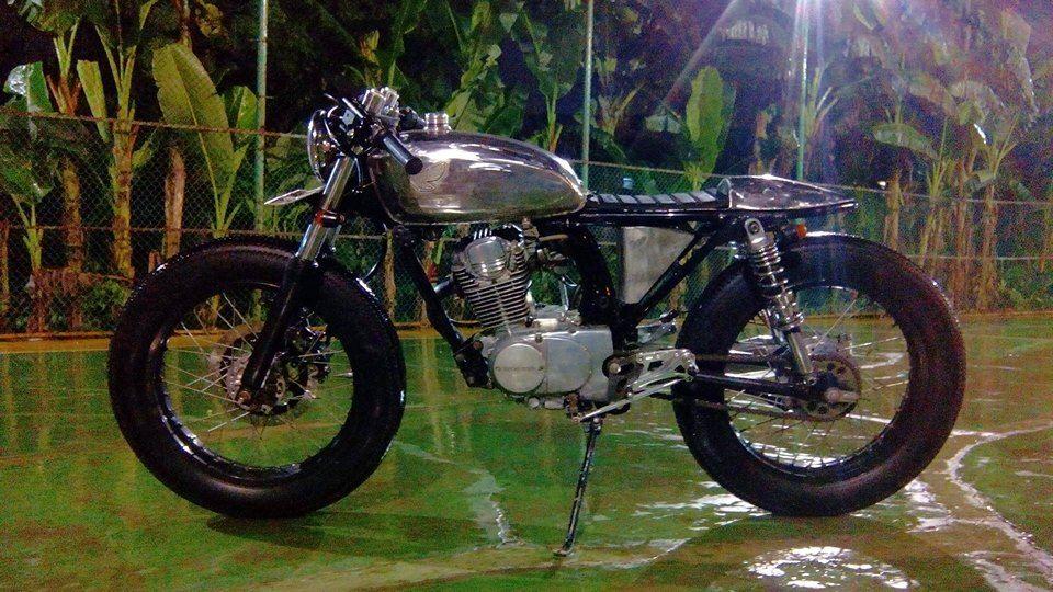 Honda Cb100 Cafe Racer From Jakarta