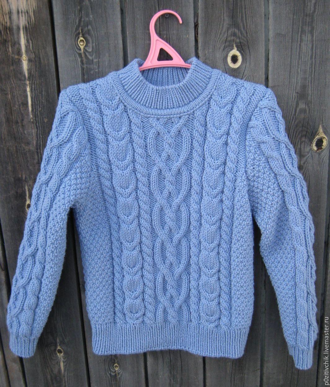 c7302ad59715 Купить Свитер мужской ручной вязки - свитер мужской, свитер, свитер  вязаный, свитер для мальчика