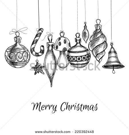 Image Result For Christmas Ornaments Drawing Christmas Drawing Ornament Drawing Christmas Cards