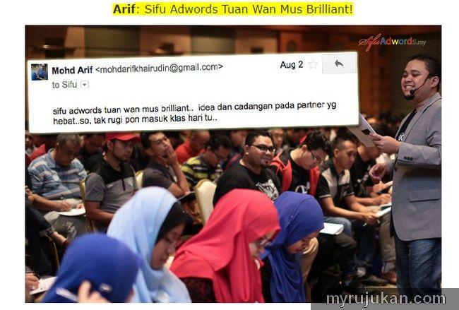 Seminar Google Adwords Malaysia Bahasa Melayu  http://myrujukan.com/seminar-google-adwords-malaysia-bahasa-melayu/