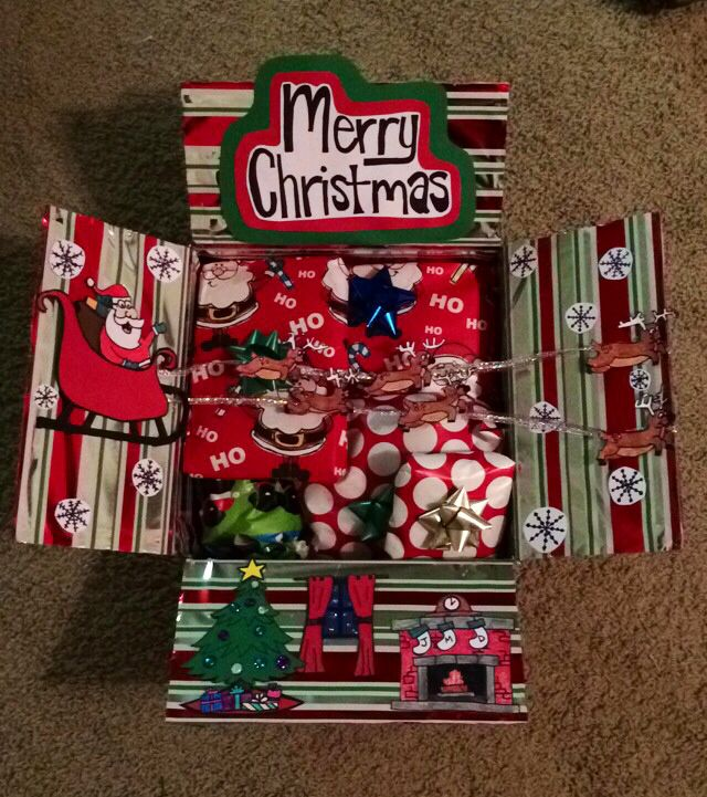 12 Days Of Christmas Gifts For Boyfriend: Merry Christmas Marine Care Package! Santa, Reindeer, And