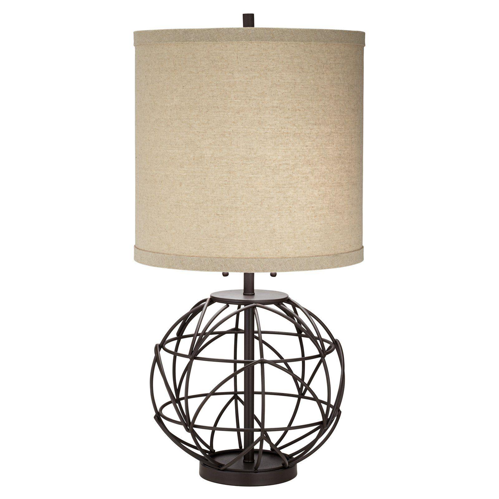 Pacific Coast Lighting Alloy Globe Table Lamp   from hayneedle.com ...