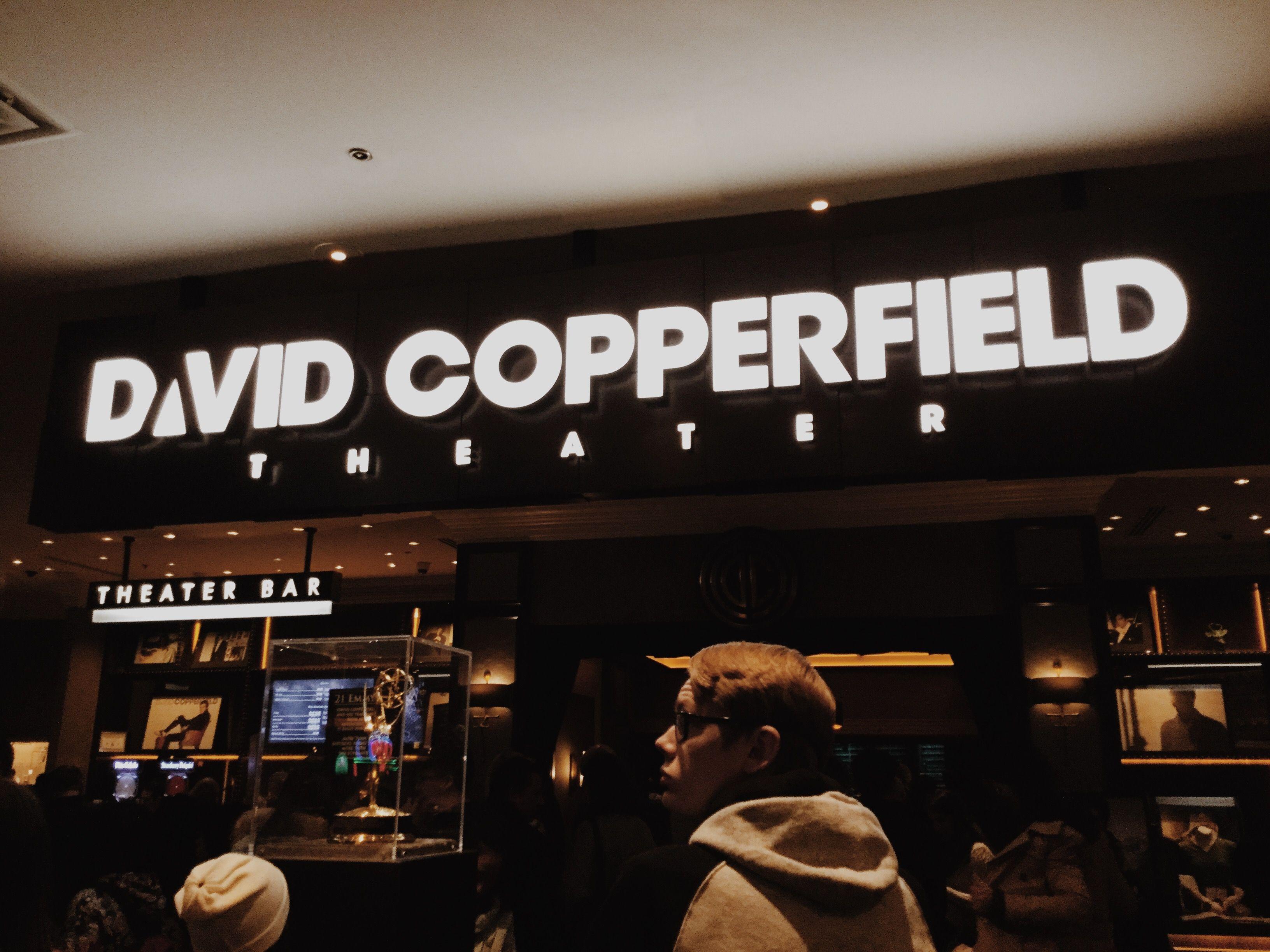 David Copperfield Magic Show in 2020 Magic show, David