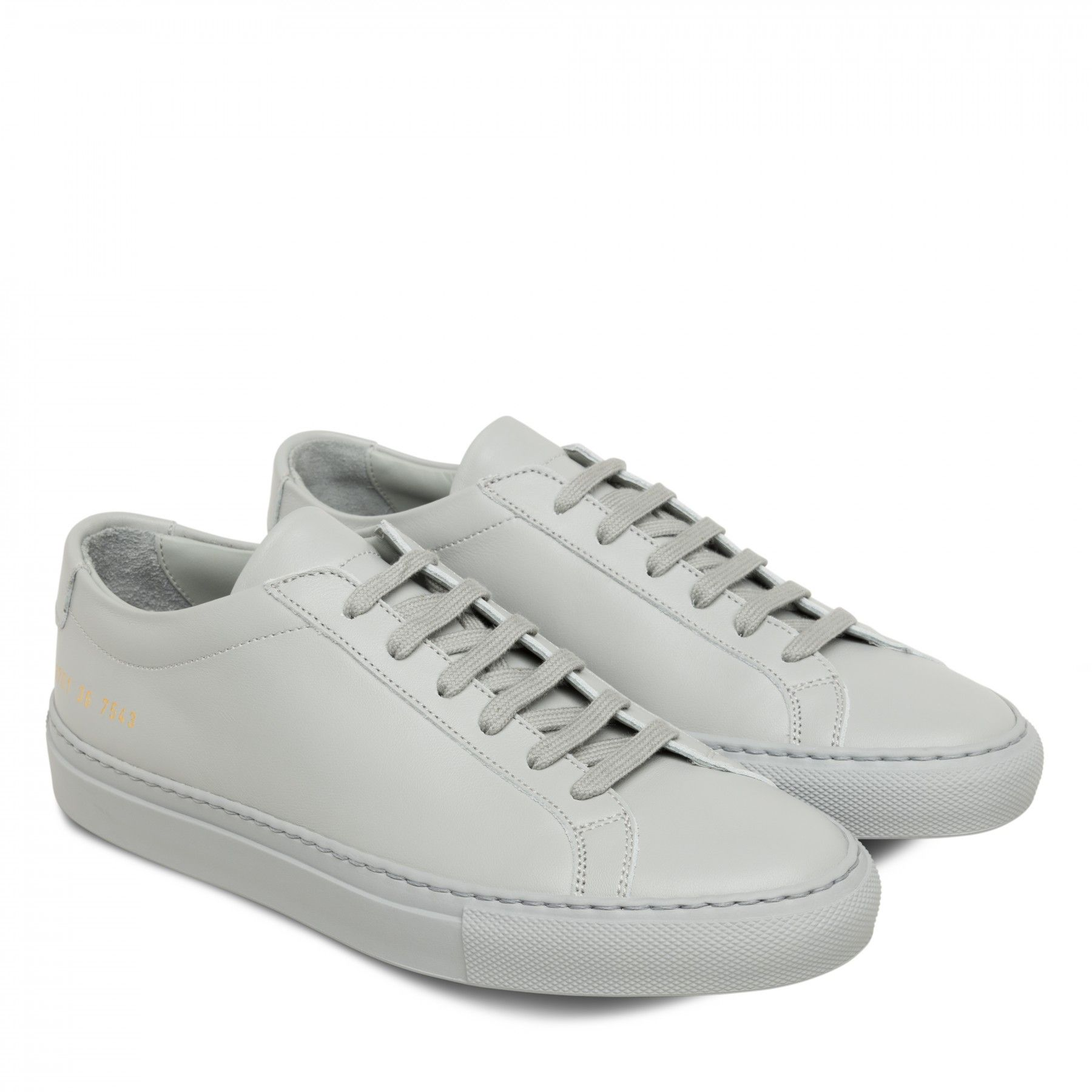 Common Projects Women's Original Achilles Low (Light Grey)