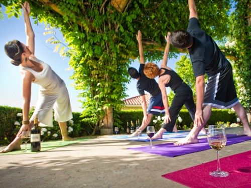 Yoga and Wine Experience in California, April 2015