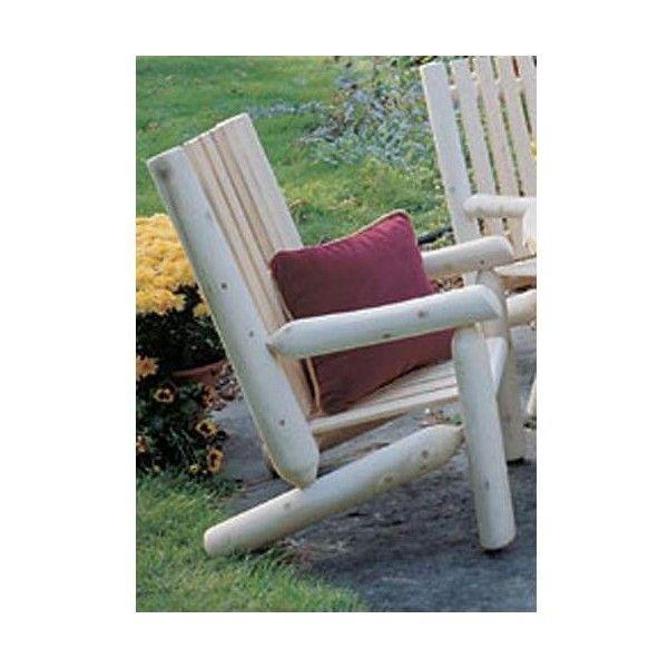 Rustic Natural Cedar Furniture Northern White Cedar Indoor/Outdoor ...