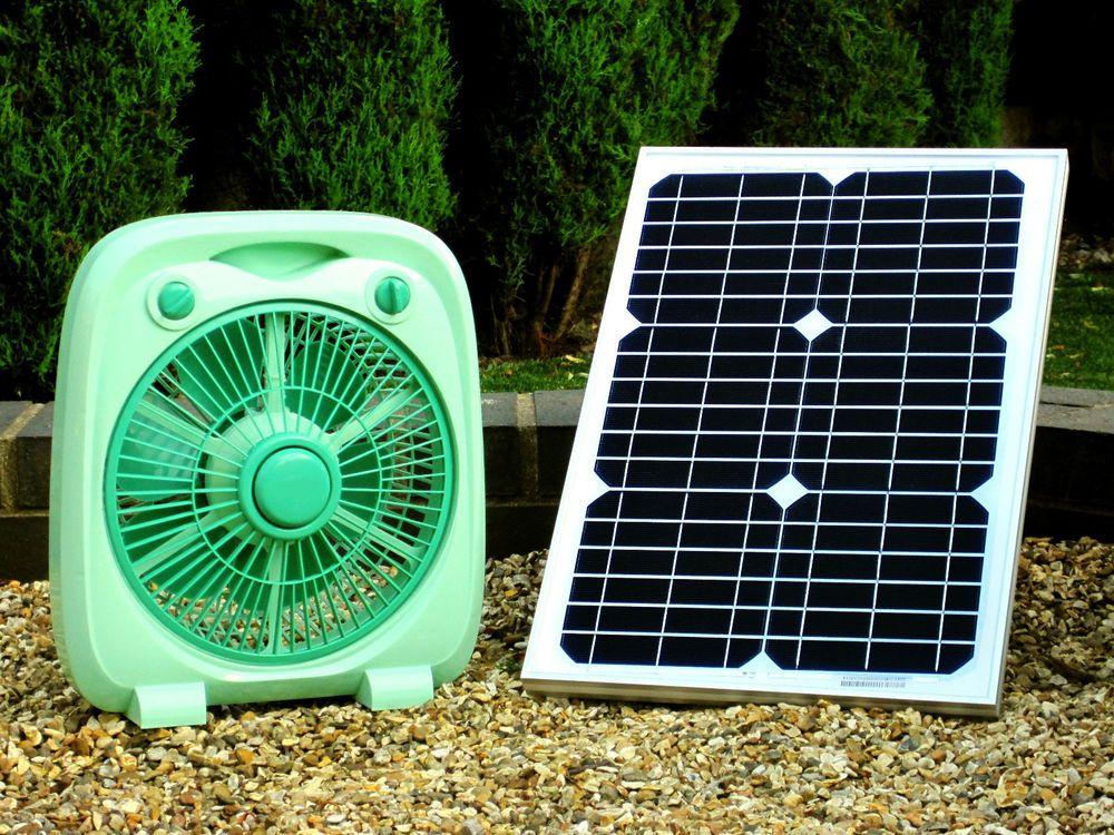 Pk Green Solar Powered 12v Dc Fan With 20w Panel Solar Fan Solar Powered Fan Solar