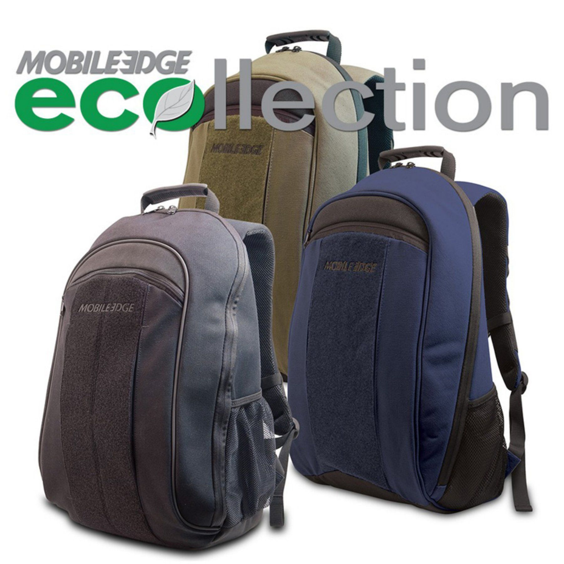 Mobile Edge Eco Friendly Canvas Backpack 17.3 in. PC / 17