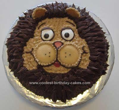 Coolest Lion Cake Design Lion Cakes Cake Designs And Cake - Lion birthday cake design