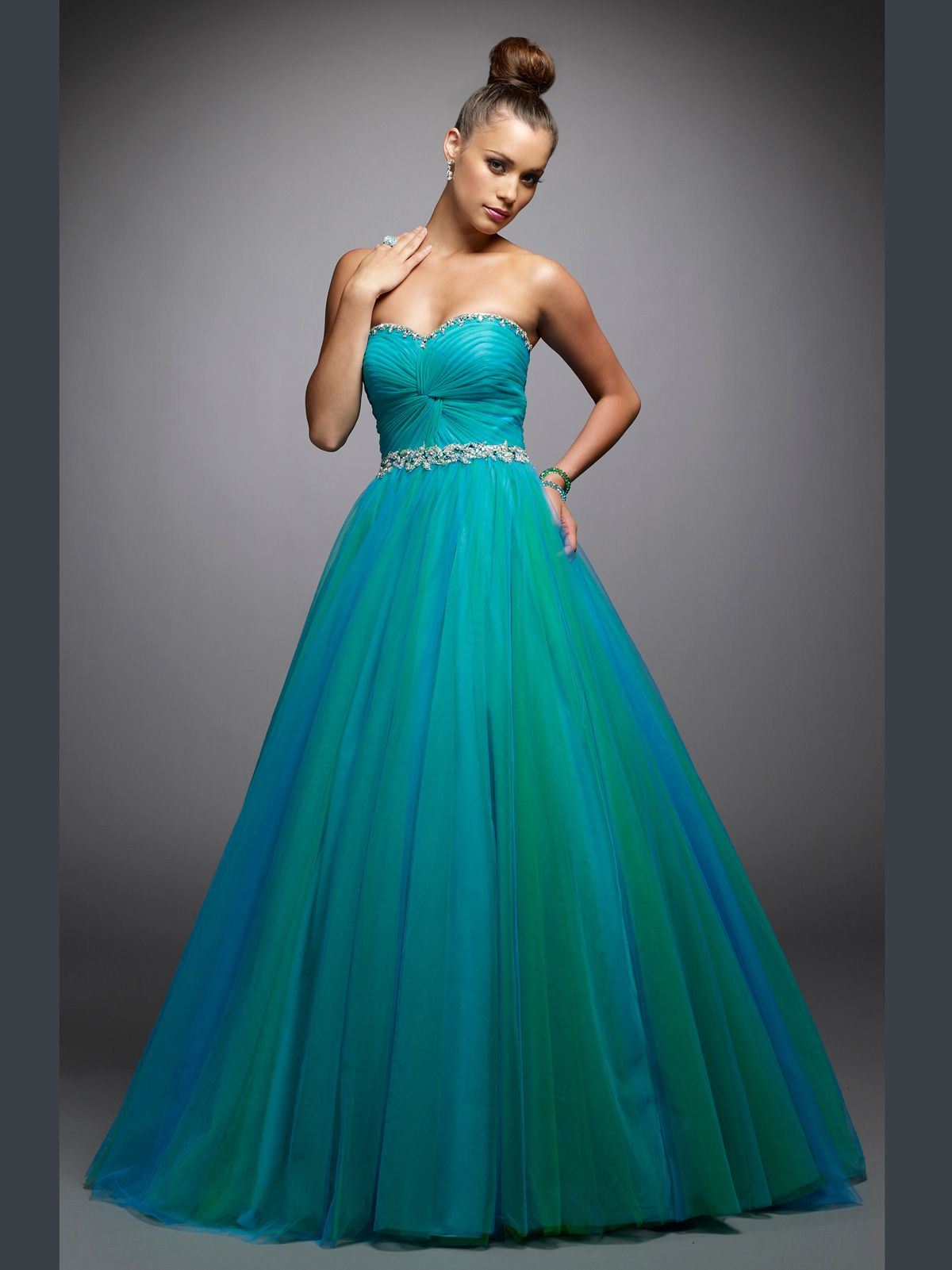 Size turquoisegreen in stockthis tulle ball gown alyce prom