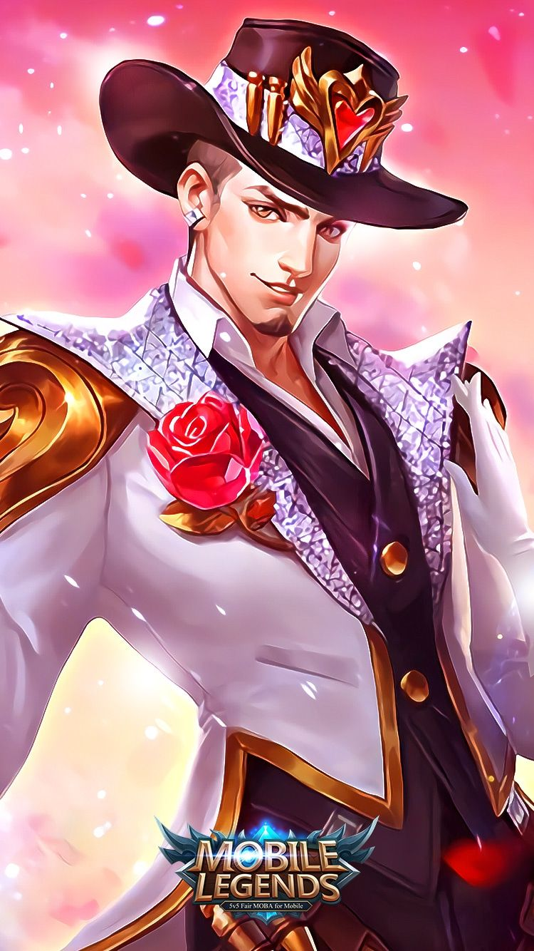 Clint Mobile Legends Wallpaper Gambar Animasi Gambar Karakter