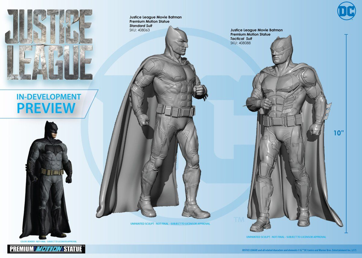 Take A Much Closer Look At Batman's Tactical Outfit In JUSTICE LEAGUE
