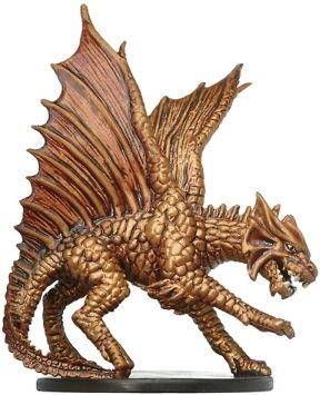 Large Brass Dragon - 19 - Rare - UNHALLOWED for £4 96 Postage | D&d
