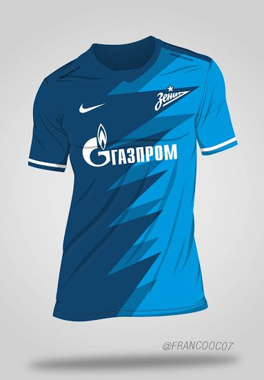 Nike Performance ZENIT ST. PETERSBURG ANTHEM - Equipación de clubes - blue/white JJb5ZK