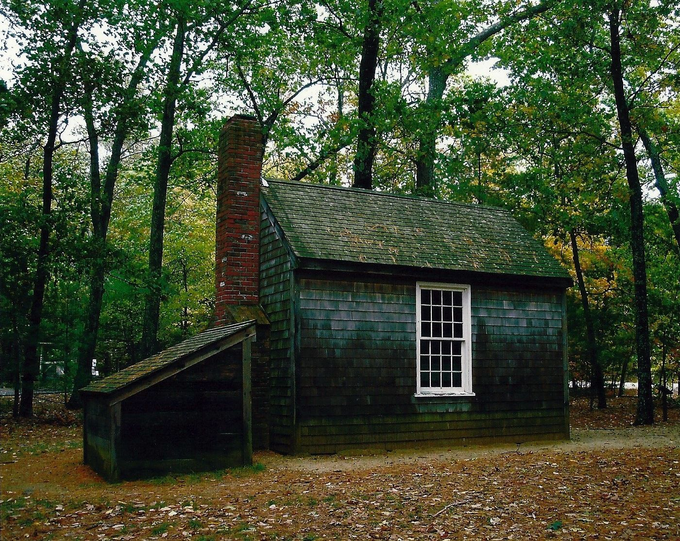 a replica of henry david thoreau s famous tiny house 10 x 15 this is a replica of henry david thoreau s tiny house next to walden pond this is probably the second most transcendentalist place because thoreau was the