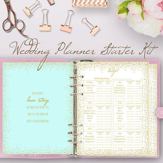 Wedding Planning Book Printable Binder Printables These Are A Great Starter