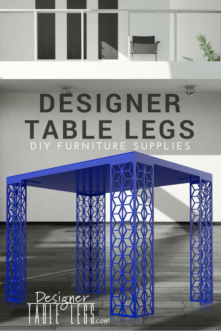 Casablanca Star Blue Table Legs Www Designertablelegs Com Diy  # Ikea Casablanca