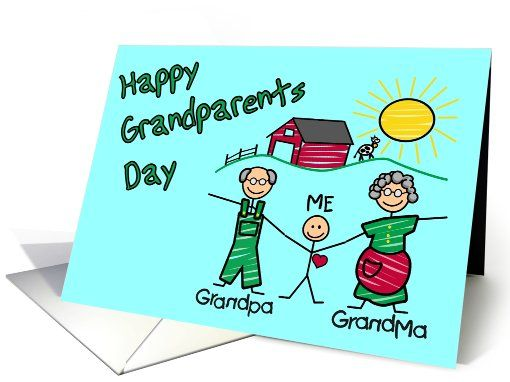 Happy grandparents day greeting card grandparents day happy grandparents day greeting card m4hsunfo