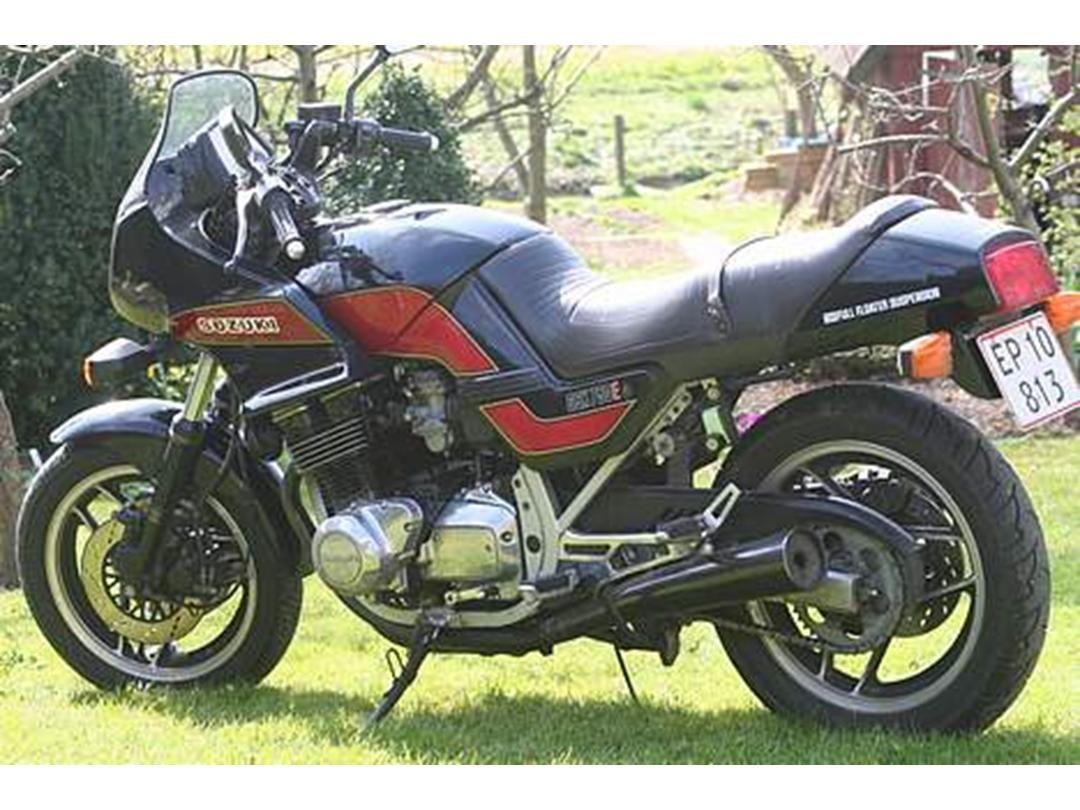 Suzuki gsx750es *SOLGT* - 1986 - En gammel kriger i ny rustnin...