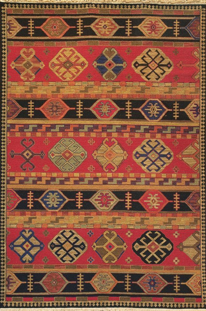 Kazak Designs Trace Their Origins Primarily To The Tribal Art Of Caucasus Region Near Caspian Sea Carpet Production In This Part World Has