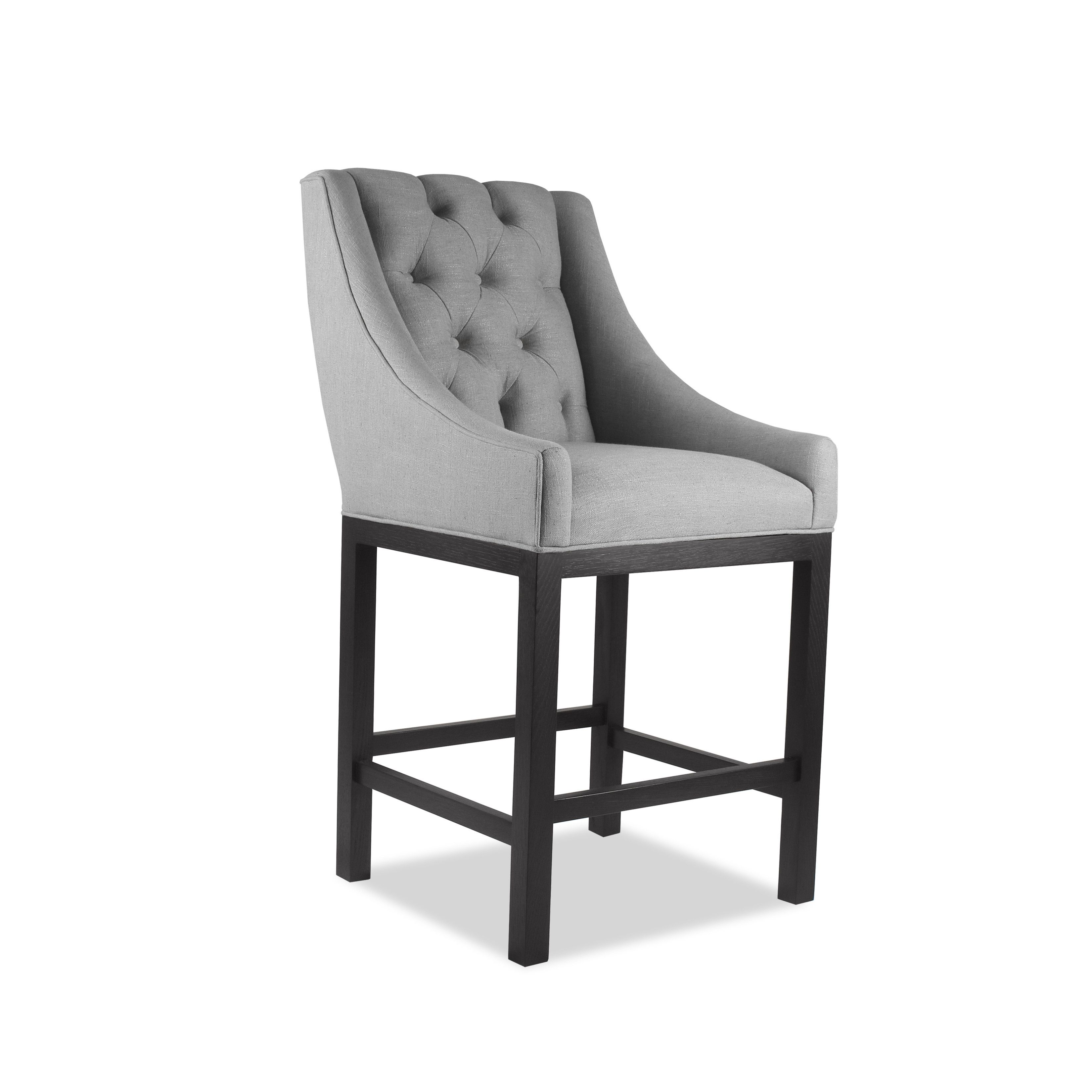 Lovely Bar Stool   Introduce Chic And Comfortable Seating To Your Home Bar With  This South Cone Naples 30 In. Linen Blend Fabric Wraps The Cushioned Seats,. Awesome Design