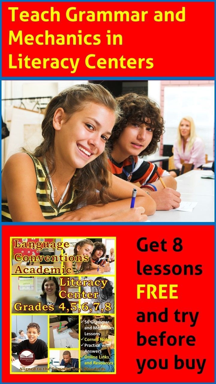 Language conventions academic literacy center grades 48 ebook language conventions academic literacy center grades 48 ebook pinterest literacy language arts and middle school english fandeluxe Image collections