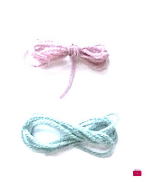 #Movember, un fenómeno de bigotes #yarn #wool #moustache #infinity #pink #blue #pastels