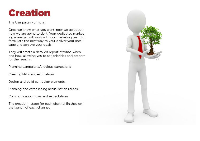 We create a social media marketing plan specifically for Estate - social media marketing plan
